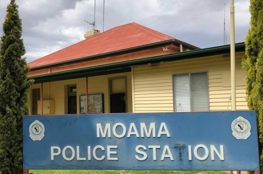 No Moama Police Station